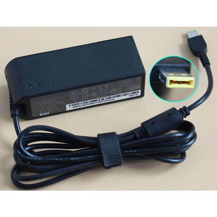 Charger Adapter and Cord for Lenovo ThinkPad 10 & Helix 2 Tablet ADLX36NCC2A PSU