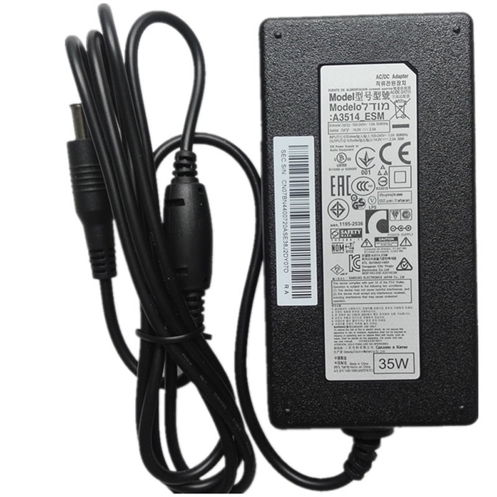 Charger Adapter and Cord for Samsung SyncMaster Display Monitor Power