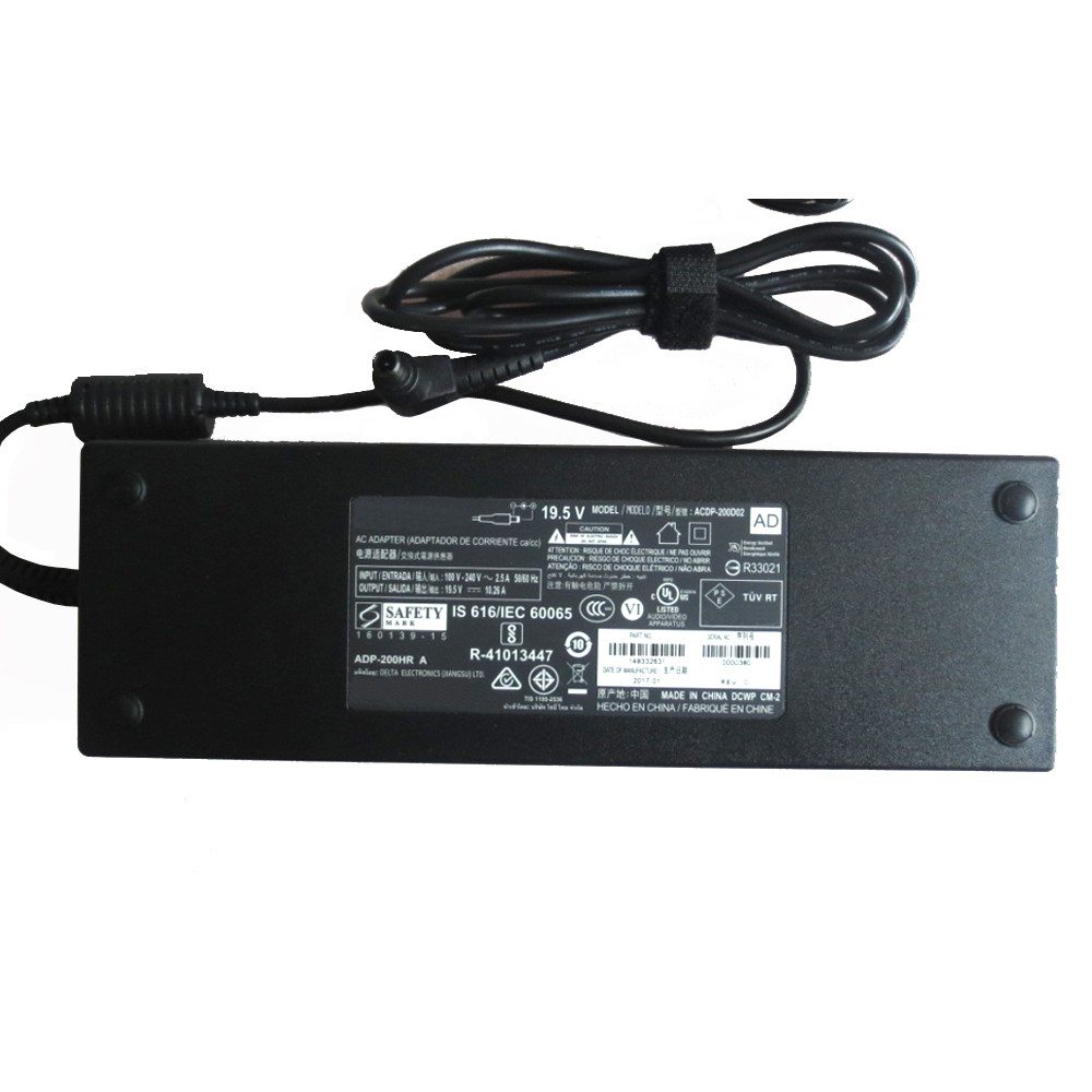 Charger Adapter and Cord for SONY LCD TV
