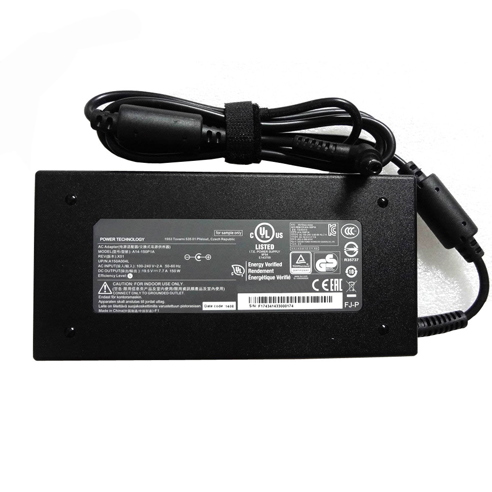 Charger Adapter and Cord for CLEVO K660D-G4D3 K650D-G4D2