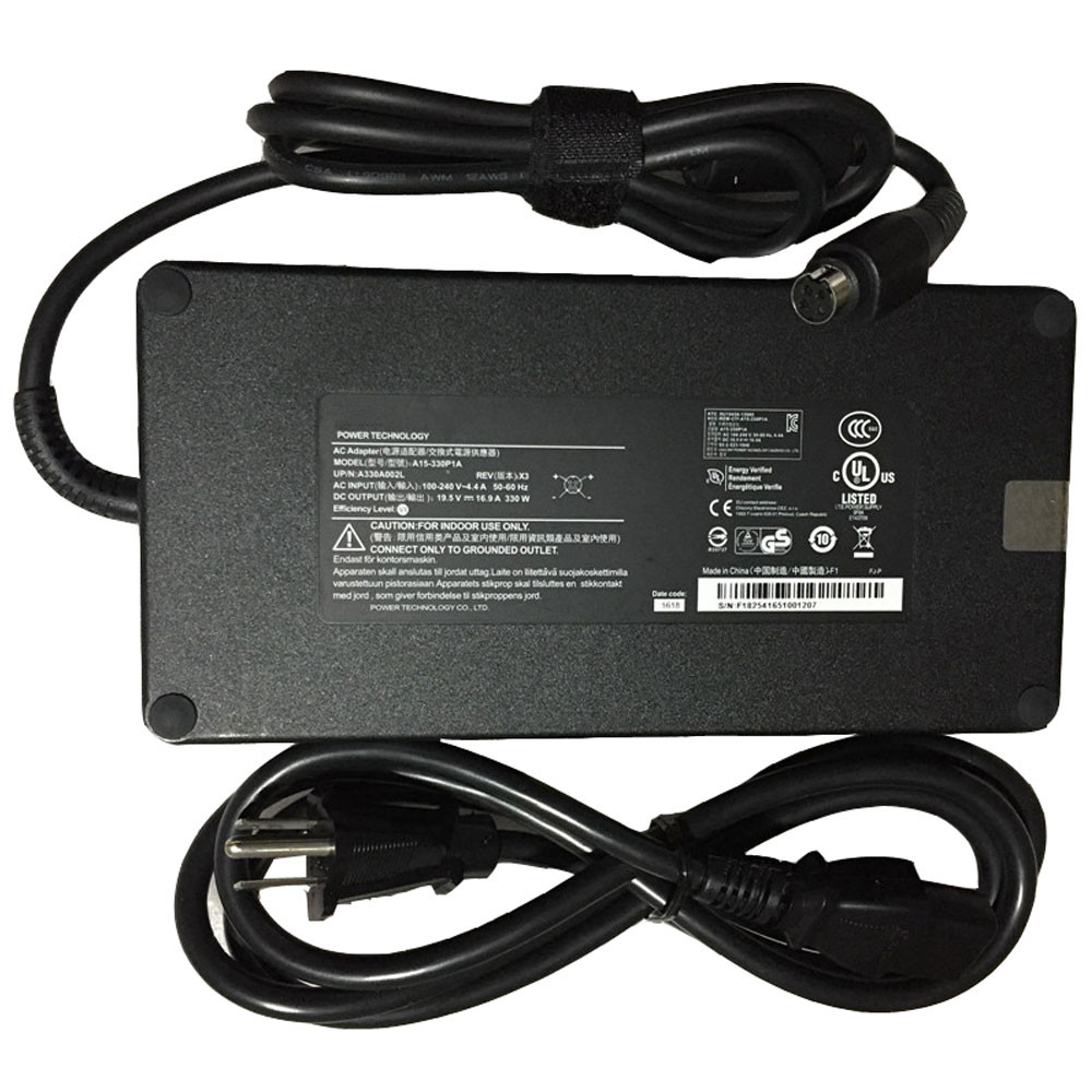 330W Charger Adapter and Cord for Chicony MSI Desktop Trident 3 VR7RD-048US VR7RD-081US