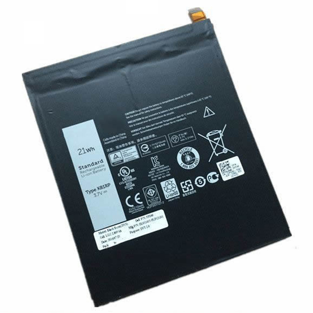 21WH Dell Venue 8 7840 WIFI 16GB venue 8 7000(7840) 5PD40 Replacement Battery K81RP 3.7V