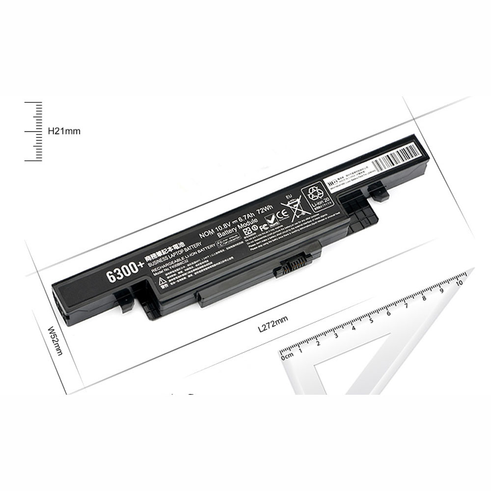 6700mAh/72Wh 10.8V L11L6R02 Replacement Battery for Lenovo IdeaPad Y500 Y510 Y590 6cell