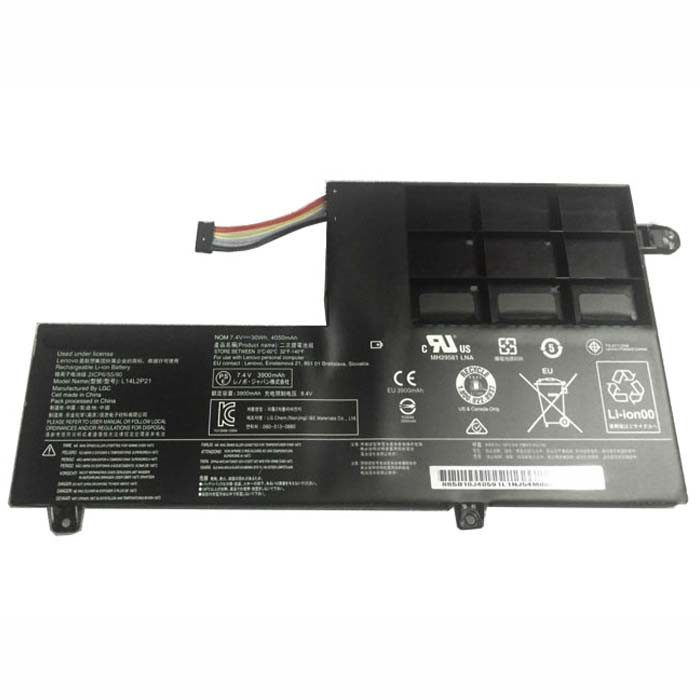 3900mAh(30Wh) Lenovo S41-70 S41-70AM Replacement Battery L14M2P21 7.4V