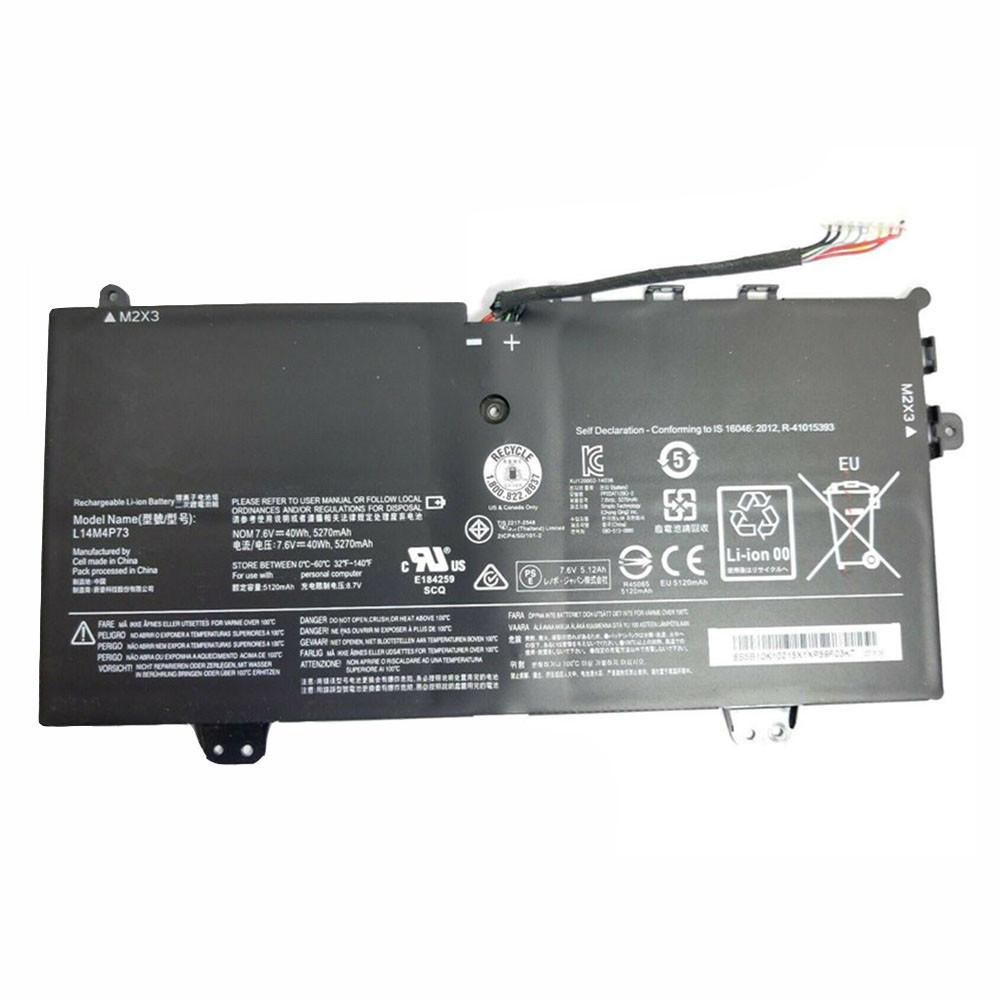 5270mAh/40WH 7.6V/8.7V L14M4P73 Replacement Battery for Lenovo Yoga 700 YogaPad 700-11isk