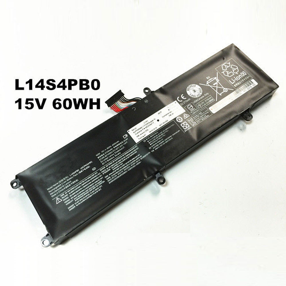 60Wh 15V L14M4PB0 Replacement Battery for Lenovo Savers 14 Series 14-ISK 15-ISK