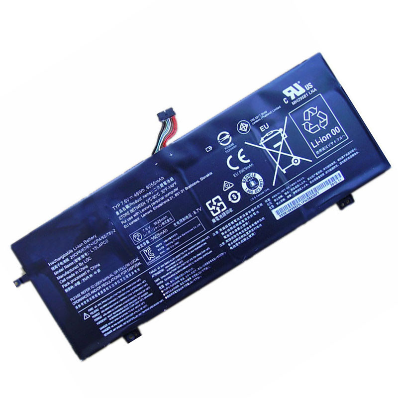 6055mah/46Wh Lenovo IdeaPad 710S 710S-13ISK Replacement Battery L15L4PC0 7.6V