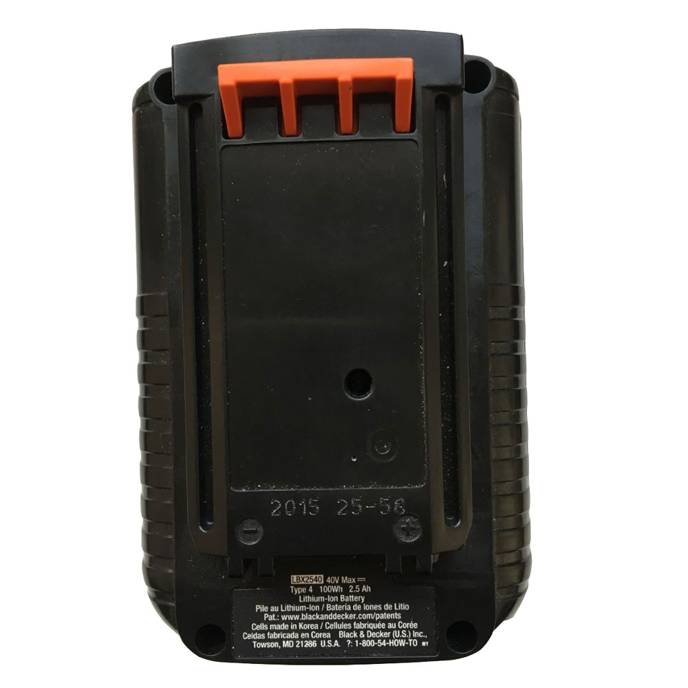 2500mah 40V LBX2040 Replacement Battery for Black&Decker LBXR36