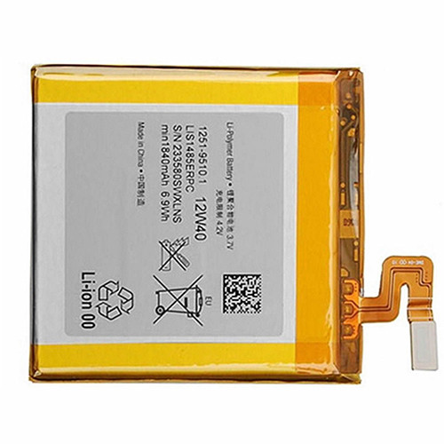 1840mAh Sony 4 Xperia Ion LT28i LT28 LT28at LT28h Aoba Replacement Battery LIS1485ERPC 3.7V