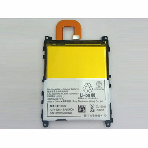3000mah Sony Xperia Z1 C6902 C6903 C6906 L39h  Replacement Battery LIS1525ERPC 3.8V