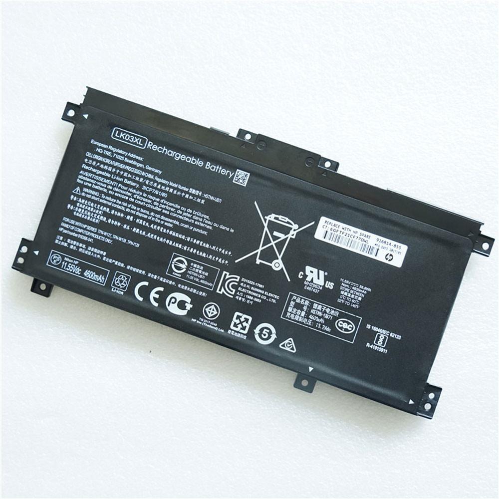 55.8Wh/4835mAh 11.55V LK03XL Replacement Battery for HP TPN-W127 TPN-W128 TPN-1129 HSTNN-UB7I HSTNN-LB7U