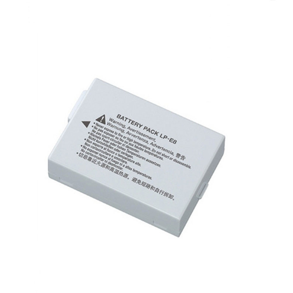 1120mAh /8.1WH 7.2V LP-E8 Replacement Battery for Canon EOS 550D 600D 700D Kiss X4  Rebel T3i T2i