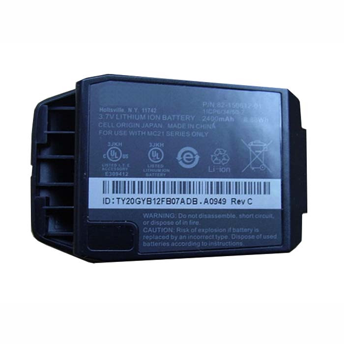 2400mAh Motorola Symbol MC2100 MC2080 MC2180 BTRY-MC21EAB0E Replacement Battery 82-150612-01 3.7V