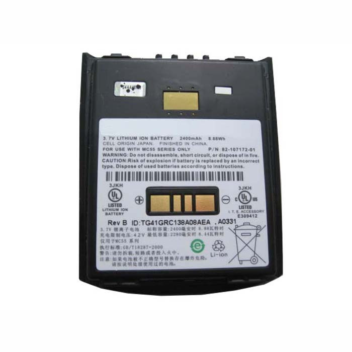2400MAH(8.88wh)(Not compatible with 3600MAH) Motorola Symbol MC55/MC5590/MC55A0 Replacement Battery MC55 3.7V