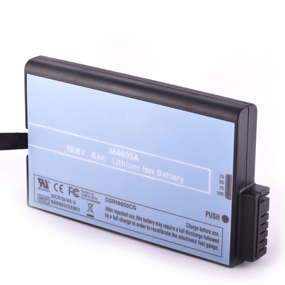 6.0 Ah Philips MP20 MP30 MP40 MP50 MP70 MP90 M8001A M8002A Replacement Battery M4605A 10.8 Volt