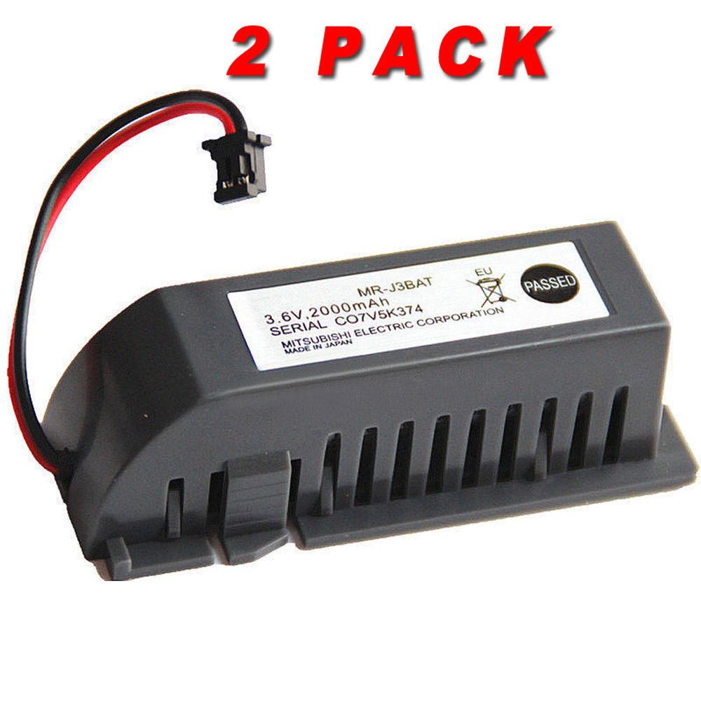 2000mAh 3.6V MR-J3BAT Replacement Battery for Mitsubishi ER6VC119A/B  MELSERVO M70 System