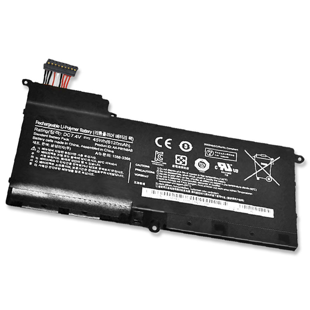 6120mAh/45WH 7.4V AA-PBYN8AB Replacement Battery for Samsung NP530U4B 530U4B-S03 NP530U4B-A01US 535U4C