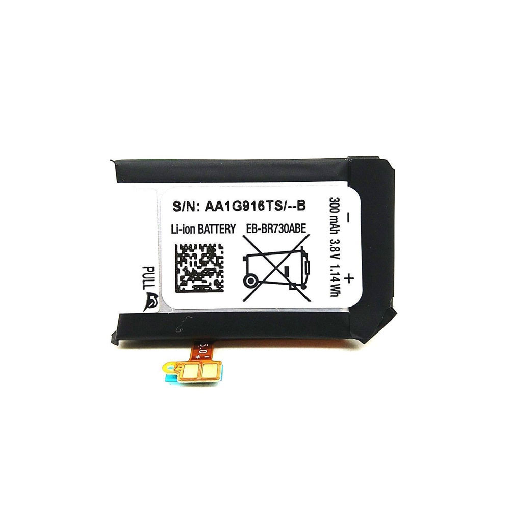 300mAh/1.14WH 3.8V/4.35V EB-BR730ABE Replacement Battery for Samsung Gear S2 3G SM-R730 R730V R730A
