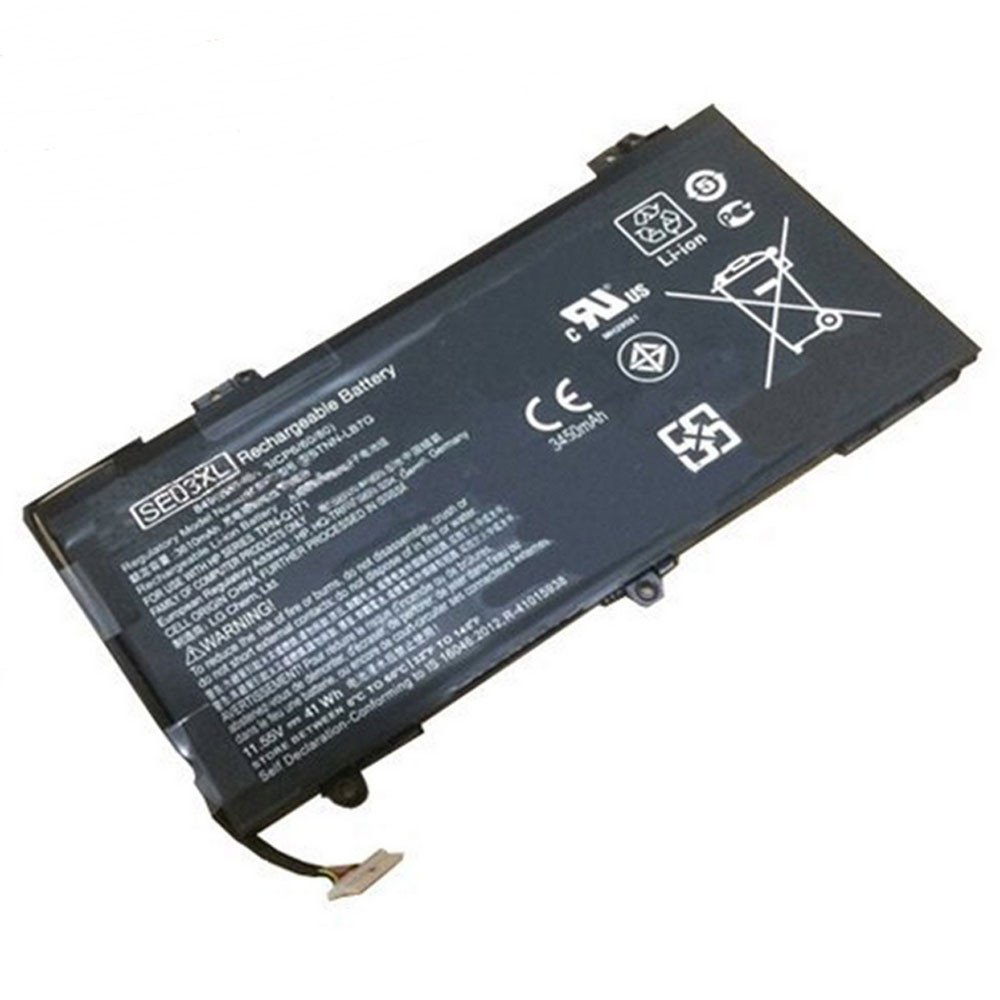 41.5Wh 3450mAh 11.55V SE03XL Replacement Battery for HP HSTNN-LB7G HSTNN-UB6Z TPN-Q171 849568-421 849908-850