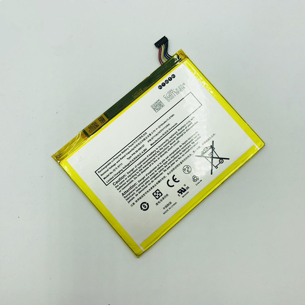 3210mAh/11.87Wh 3.8V 58-000127 Replacement Battery for Amazon Kindle Fire HD 8 5TH GEN SG98EG