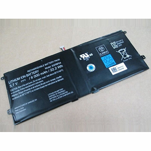6000mAh/22.2Wh SONY Xperia Tablet S Series PCG-C1R PCG-C1S PCG-C1X Replacement Battery SGPBP04 3.7V