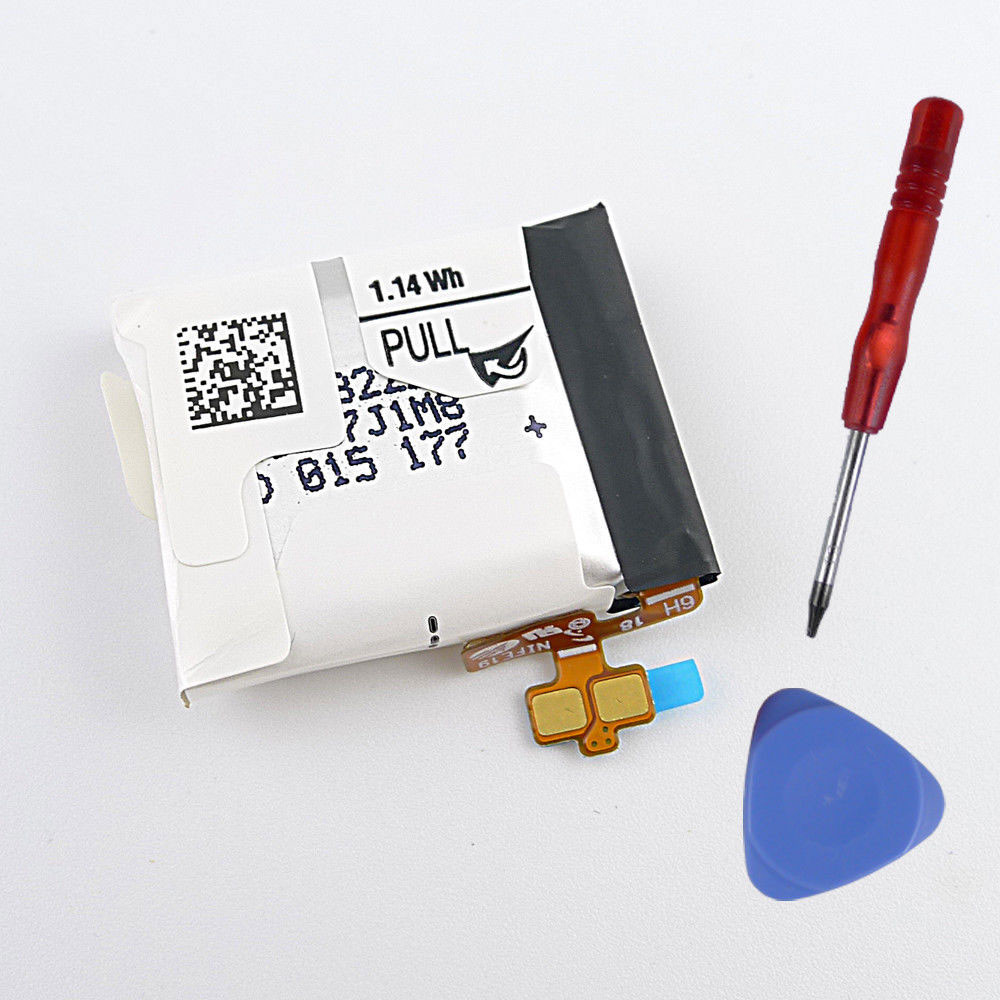 300mah/1.14Wh 3.7V EB-BR382FBE Replacement Battery for Samsung Galaxy Gear Live SM-R382