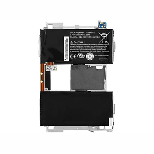 5400MAH/19.98wh Playbook Tablet w/ Midboard 5400mAh CS-BRU100SL Replacement Battery SQU-1001 3.7V