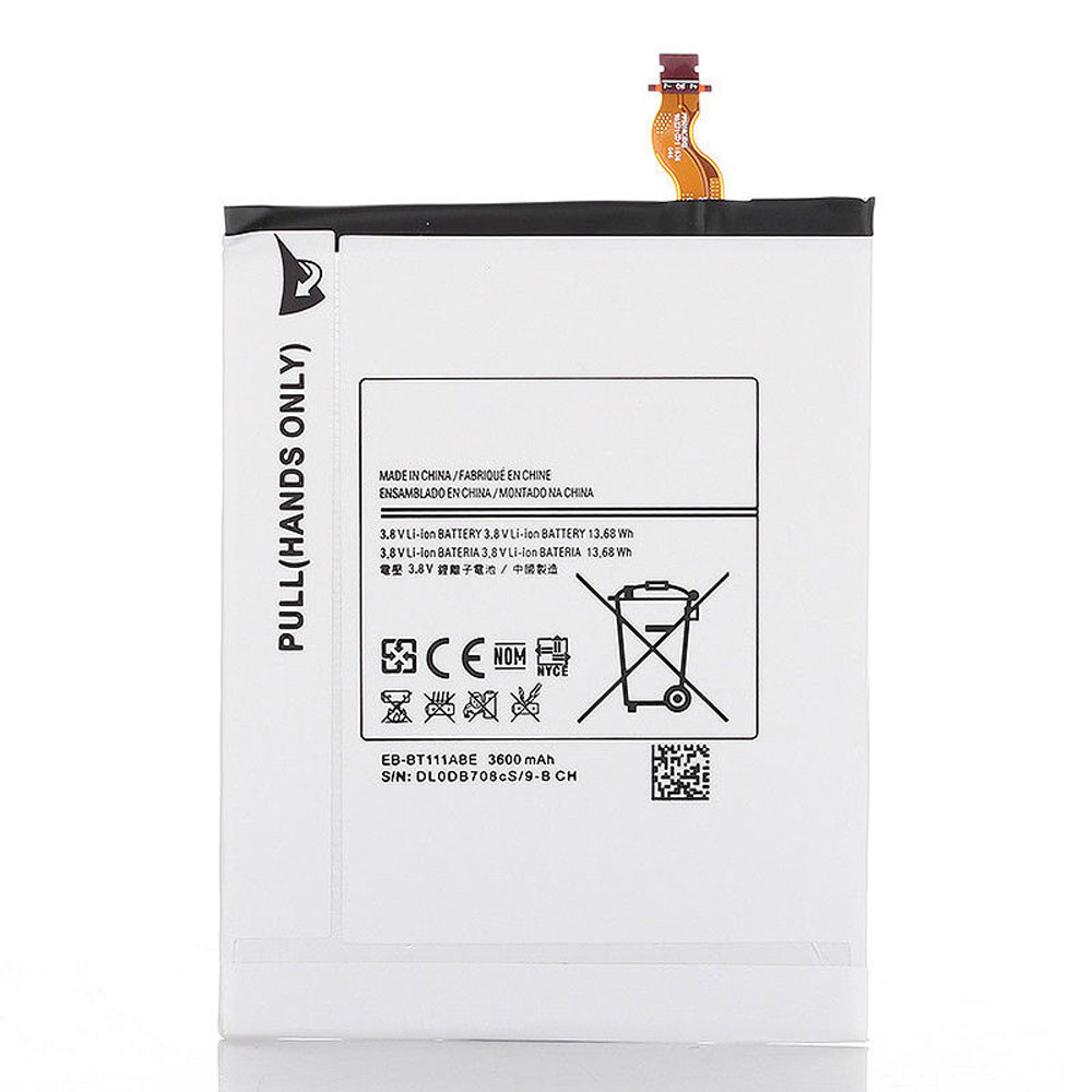 3600MAH/13.68Wh 3.8V EB-BT111ABE Replacement Battery for Samsung GALAXY TAB 3 7.0 LITE SM-T110 T111