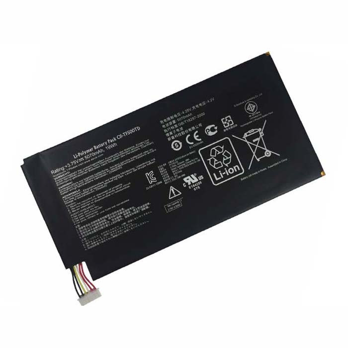 5070mAh/19Wh Asus EE Pad TF500 Transformer Pad TF500 TF500T Replacement Battery C11-TF500TD 3.75V