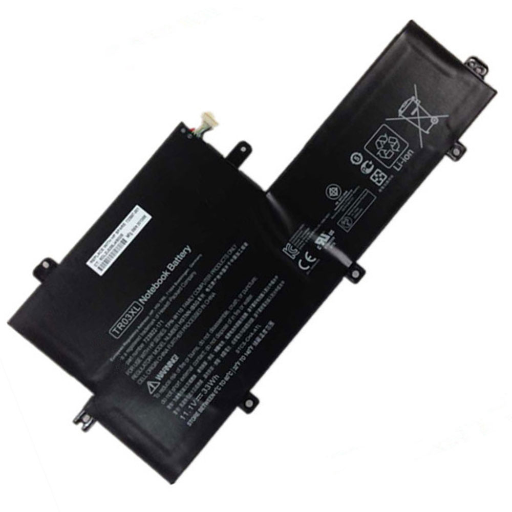 2950mAh/33WH 11.1V TR03XL Replacement Battery for HP Split X2 13 Series