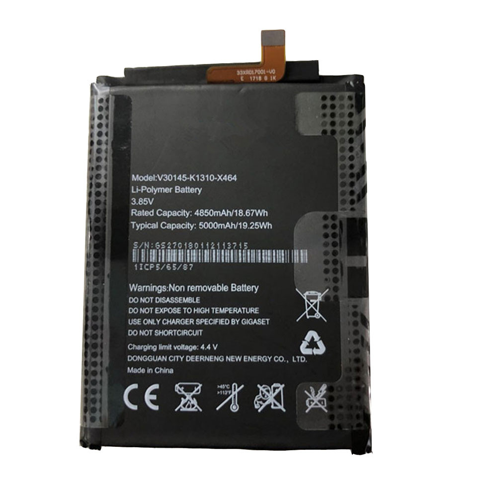 4850mAh/18.67WH 3.85V/4.4V V30145-K1310-X464 Replacement Battery for Gigaset G1 Phone