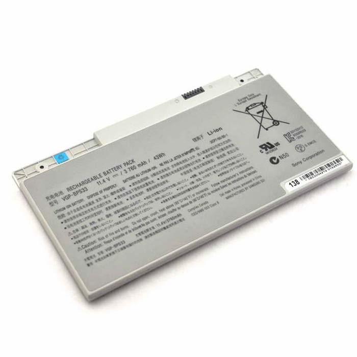 3760mAh/43WH SONY VAIO SVT-14 SVT-15 T14 T15 Touchscreen Ultrabooks Replacement Battery VGP-BPS33 11.4V