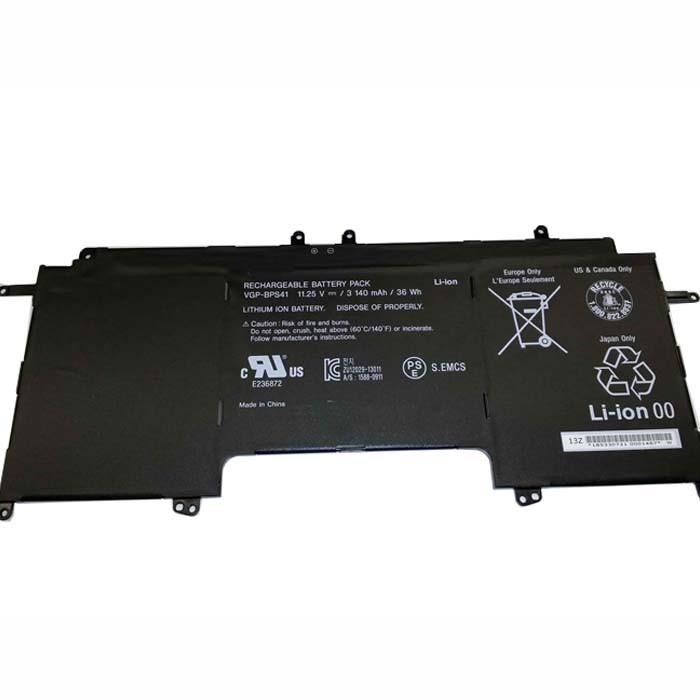 3140mAh/36Wh Sony Vaio Flip 13 SVF13N SVF13N13CXB Replacement Battery VGP-BPS41 11.25V