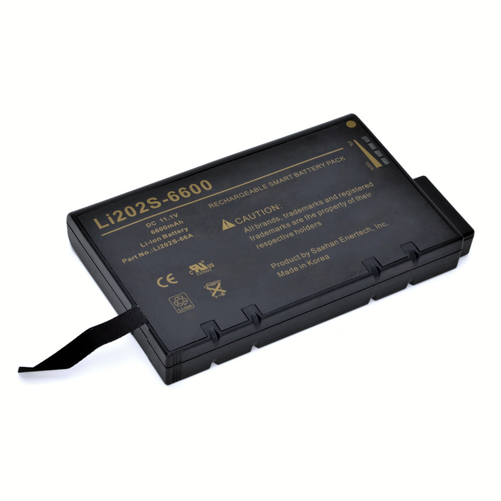 6.6Ah PHILIPS VS2/VM4/VM6/VM8/VM3 VS3 V24E Replacement Battery LI202S-6600 11.1V