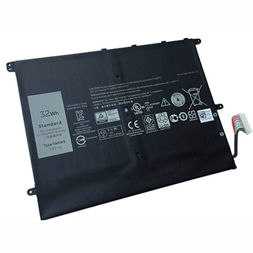 4300mAh/32WH 7.4V 32WH Replacement Battery YN6W9 7.4V