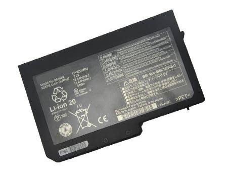 6.2AH PANASONIC Toughbook CF-N10 CF-S10 laptop Replacement Battery CF-VZSU59U CF-VZSU61U 7.2v
