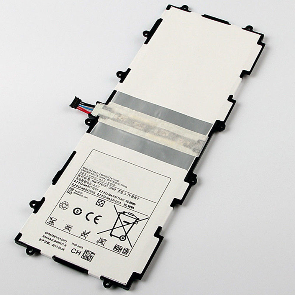 7000MAH/25.90Wh 3.7V/4.2V SP3676B1A Replacement Battery for Samsung Galaxy Tab 2 10.1 GT-P5100 P5110 -P5113 -P7500