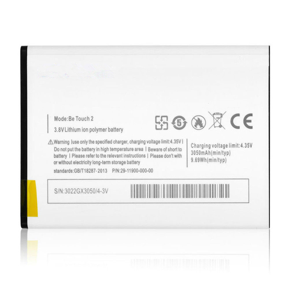 3050mAh/9.69WH 3.8V/4.35V Be_Touch_2 Replacement Battery for Ulefone Be Touch 2 & 3