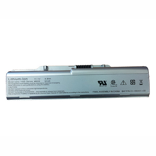 4.8Ah Twinhead 10D Series HASEE Elegance Q100  Q100C  Q100P Series Replacement Battery 23-050430-00 SA20070-01-1020 11.1V