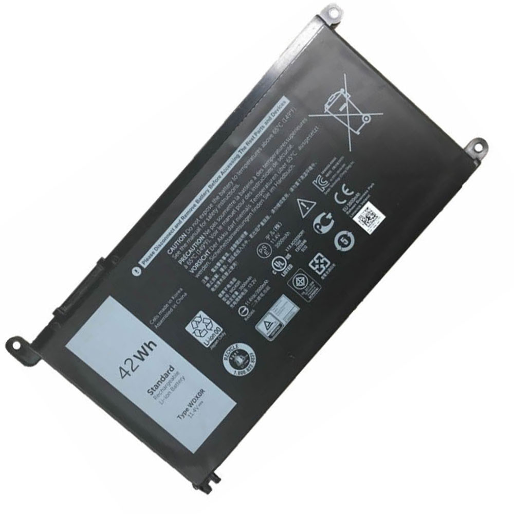 3500mAh/42Wh 11.4V 3CRH3 Replacement Battery for Dell Inspiron 13 7368 15 5568 15 7000 7560