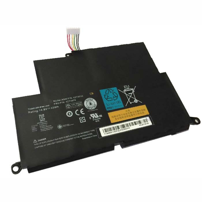 14.8V Lenovo Thinkpad Edge E220s 5038-2NU Replacement Battery 42T4932 42T4933 42T4934 42T4935 42T4976 42T4984 42T4928 42T4929 42T4930 42T4931 44wh