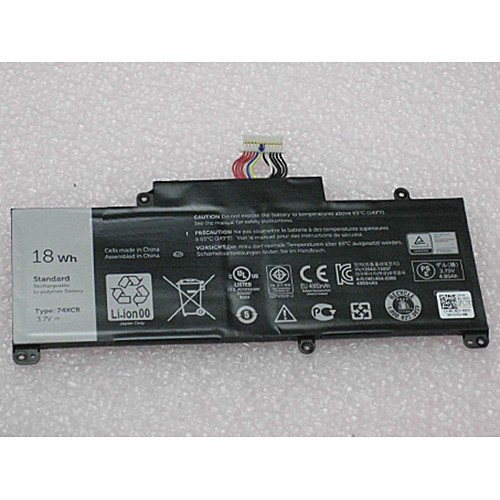 18WH Dell Venue 8 Pro (5830) Tablet  Replacement Battery 74XCR X1M2Y VXGP6 3.7V
