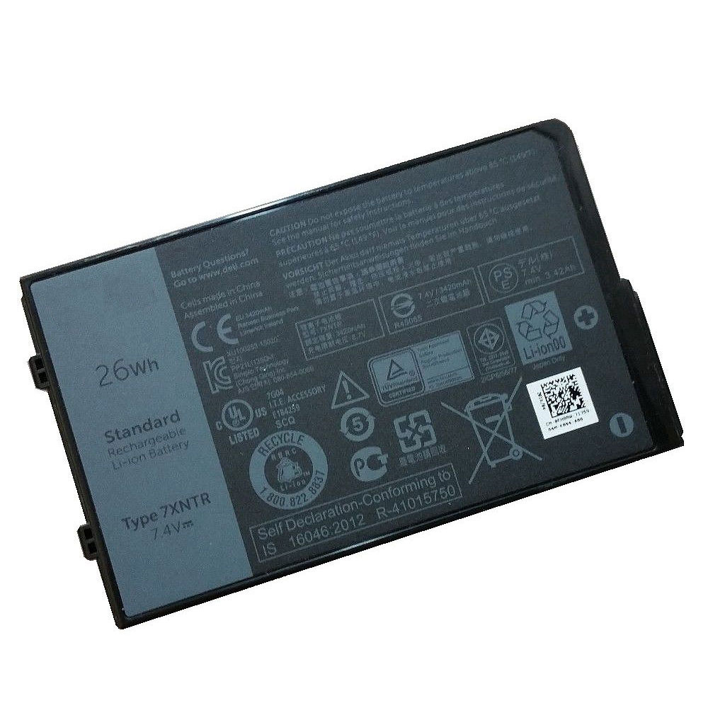 26Wh 7.4V 7XNTR Replacement Battery for Dell Latitude 12 7202 Rugged Tablet Series