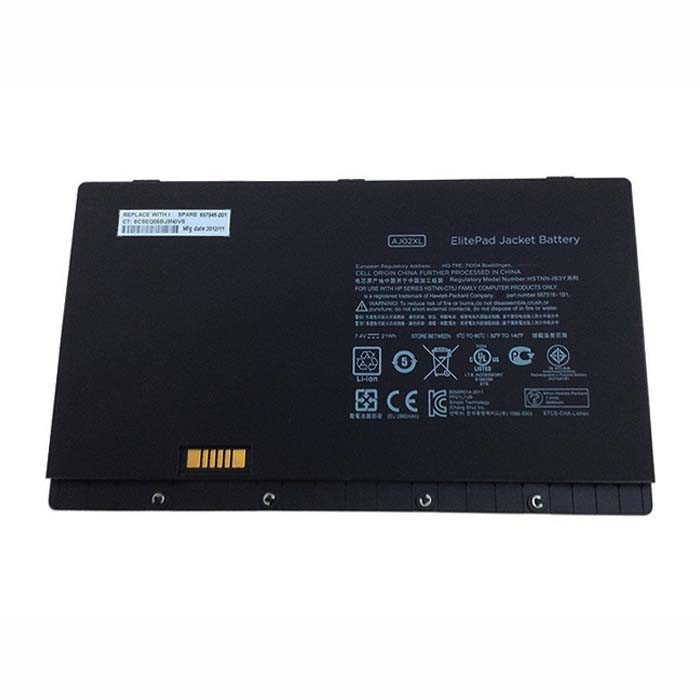21WH HP Jacket Elitepad 900 Replacement Battery AJ02XL 7.4V