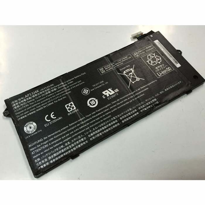 3920mAh/45Wh Acer Chromebook C720 C720P C740 Replacement Battery AP13J4K 11.4V