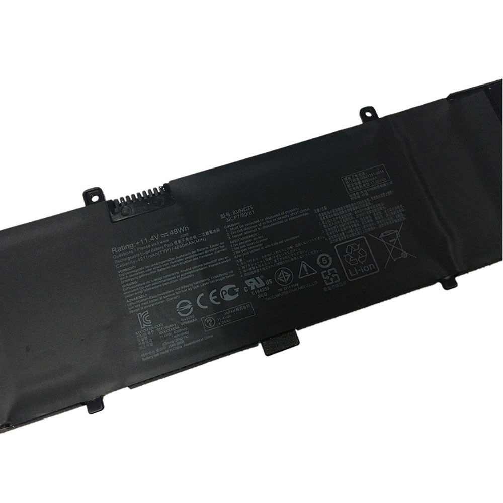 48Wh 11.4V B31N1535 Replacement Battery for ASUS ZenBook UX310 UX310UA UX310UQ UX410UA