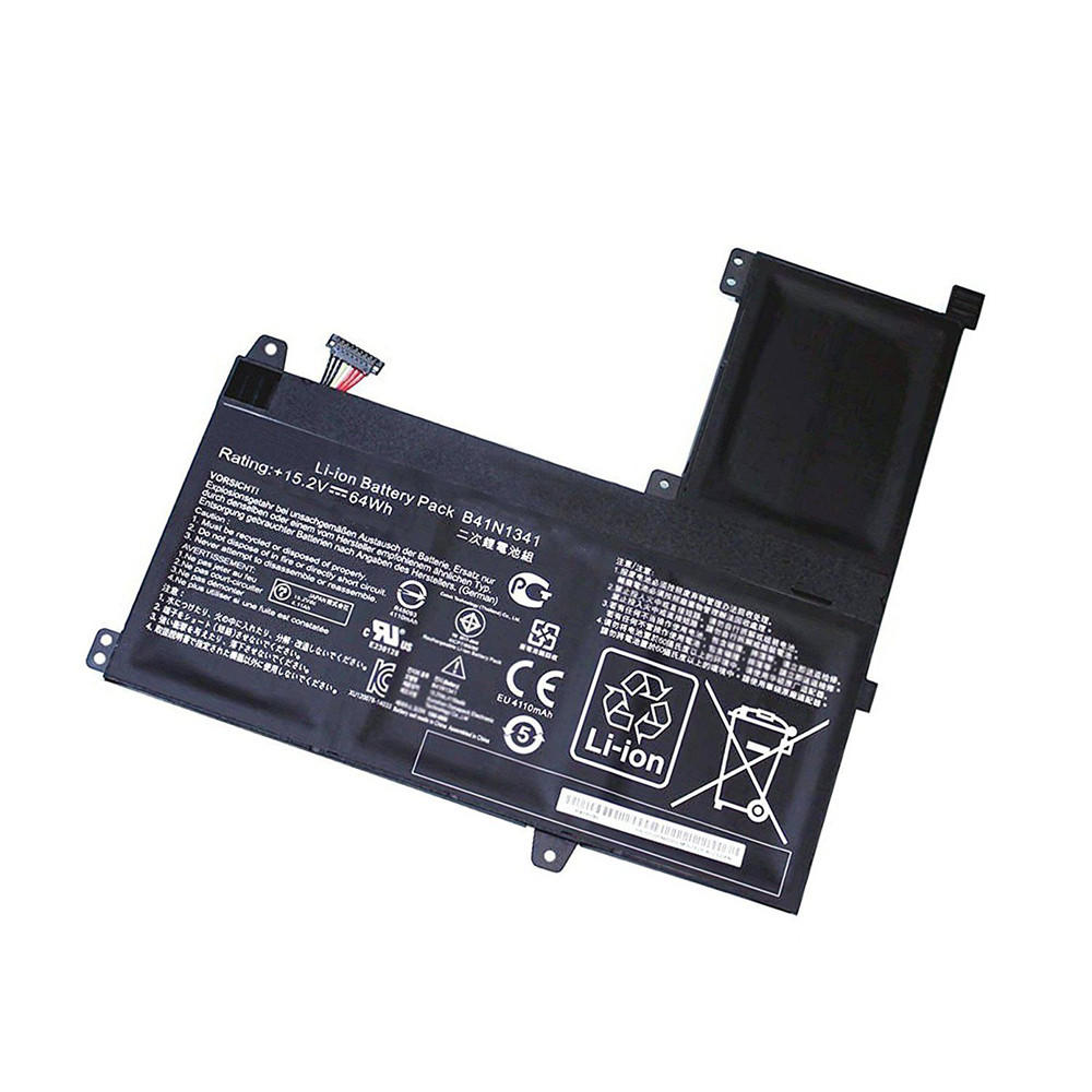 64Wh Asus Q502L Q502LA Q502LA-BBI5T12 Series Replacement Battery B41N1341 15.2V