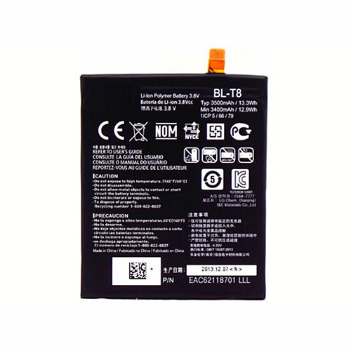 3500mAh LG G Flex D950 D955 D958 D959 F340 LS995 +Tools Replacement Battery BL-T8  3.8V