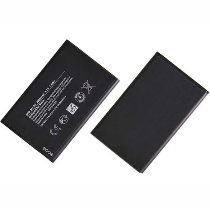 2000mAh Nokia XL Dual SIM BN-02 BN02 Replacement Battery BN-02 3.7V