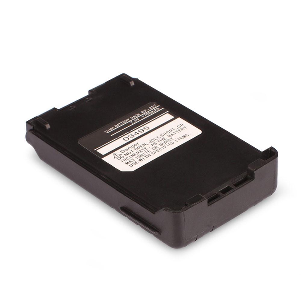 1700mah 7.4V  BP-227 Replacement Battery for Icom IC-F50 IC-F51 IC-F60 IC-F61 IC-M87